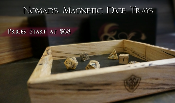 Nomad's Dice Trays