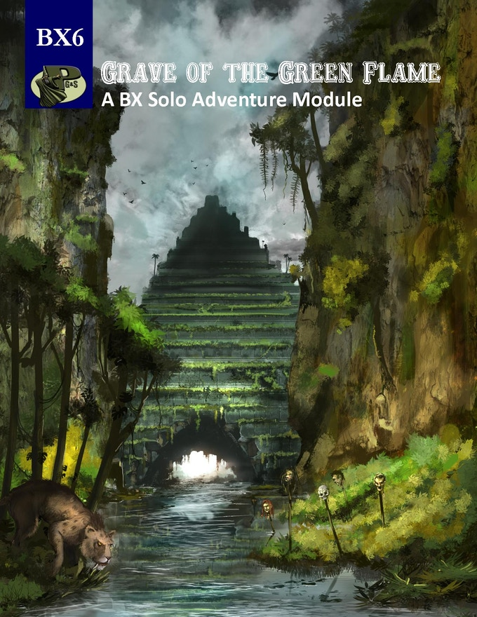 Cover Image of solo module BX6 Grave of the Green Flame