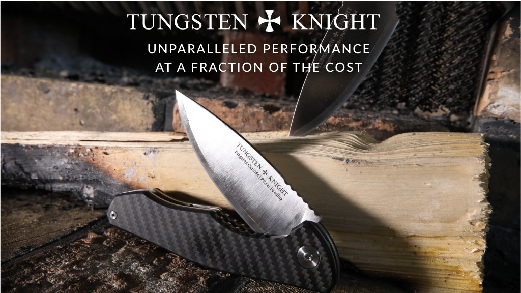 TungstenKnight Hybrid Blade Hunting Knife project video thumbnail
