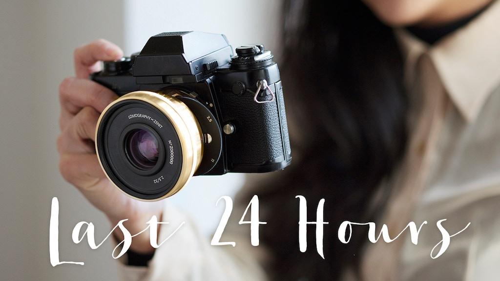 The Lomogon 2.5/32 Art Lens project video thumbnail
