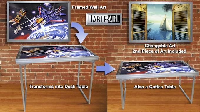 How it works detail / Includes 2 Art pieces shown