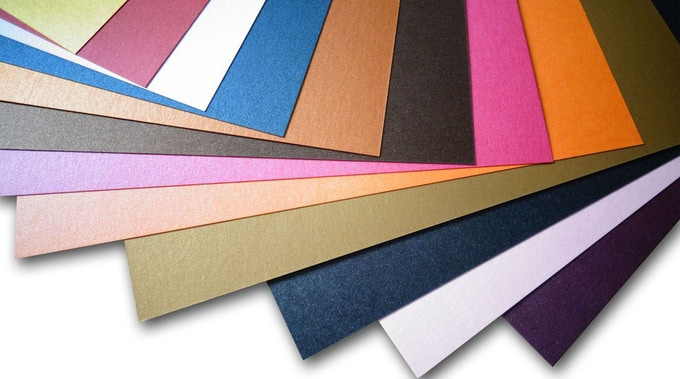 Best Italian colored pearlescent cardstocks for SE tuck boxes