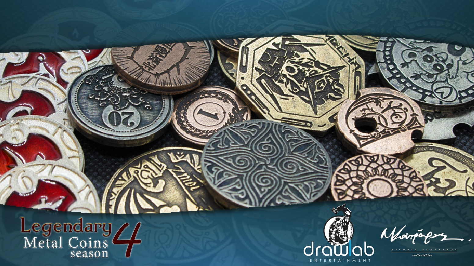The biggest, heaviest and most premium gaming metal coins are back. Legendary Metal Coins Season 4 is here with many new ideas.