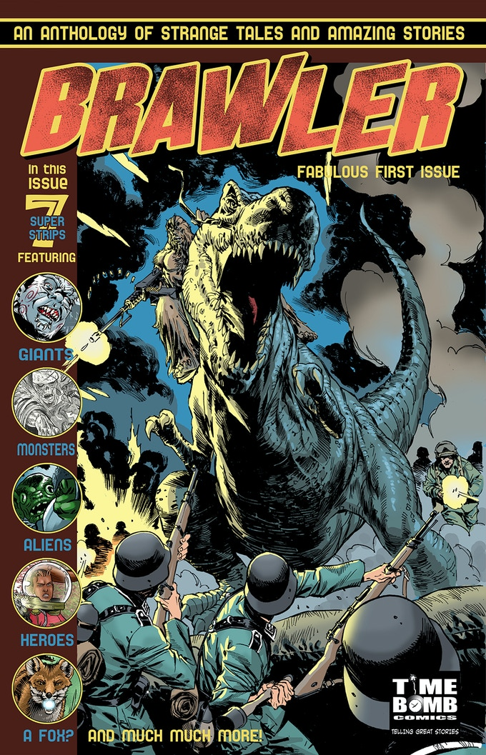 Brawler #1 - Cover artwork by Staz Johnson!