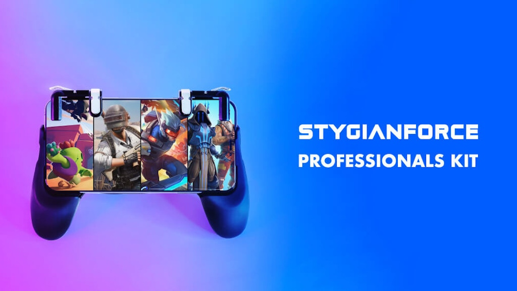 StygianForce: World's First Mobile Gaming Accessories Kit
