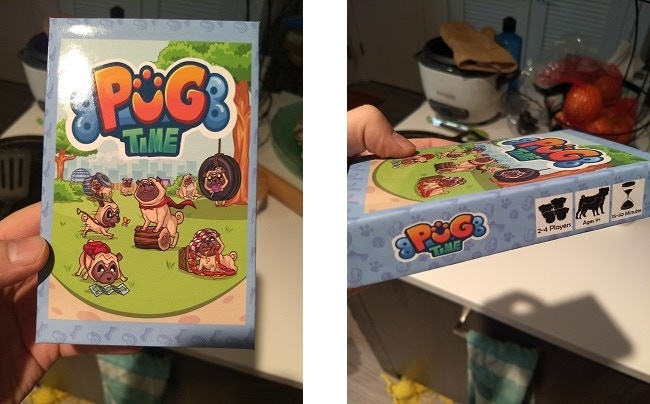 The front and side view of the prototype version of the box!