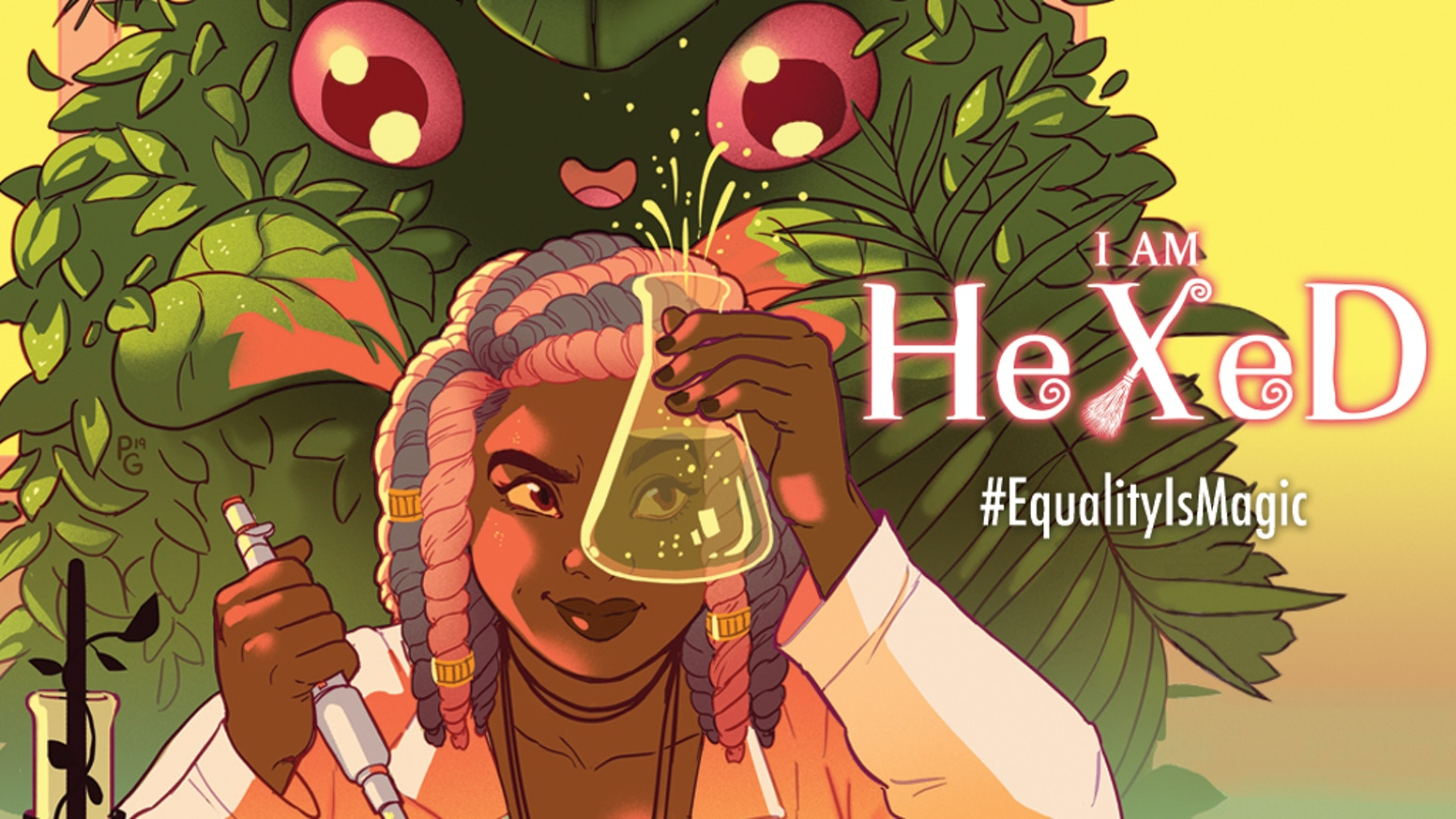 Equality is Magic: A comic book about the ongoing political struggles of modern day witches.