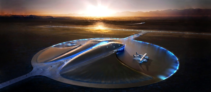 Figure 9 - Spaceport America in New Mexico