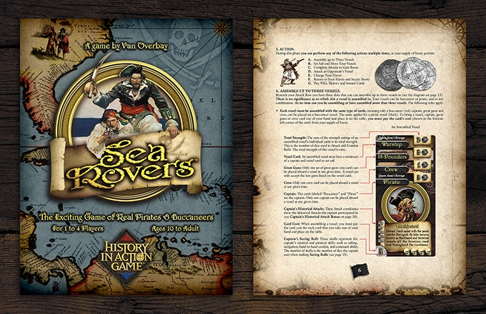 SeaRovers version 2.0 Game Manual.