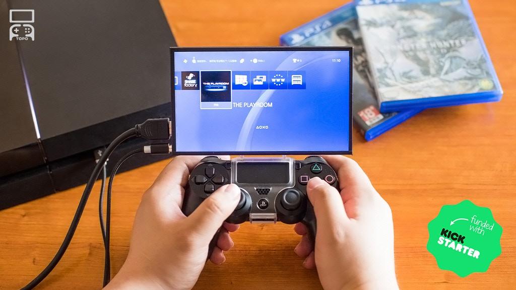 TOPO Gamepad Mountable Monitor: Play Anywhere project video thumbnail