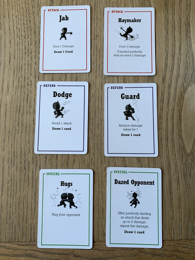 These are some of the prototype cards. After funding, I will be able to give these babies a lot more detail.