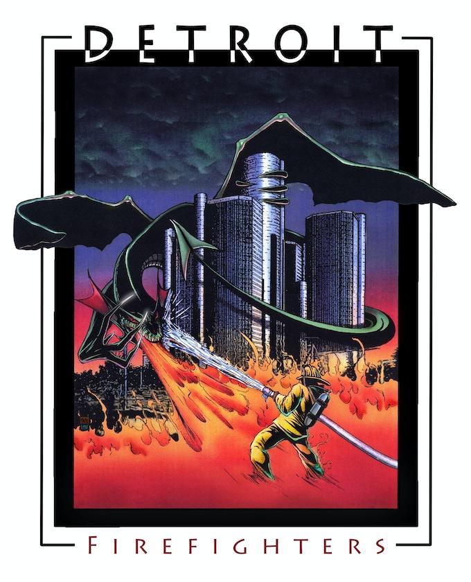 BONUS Detroit Firefighter Print