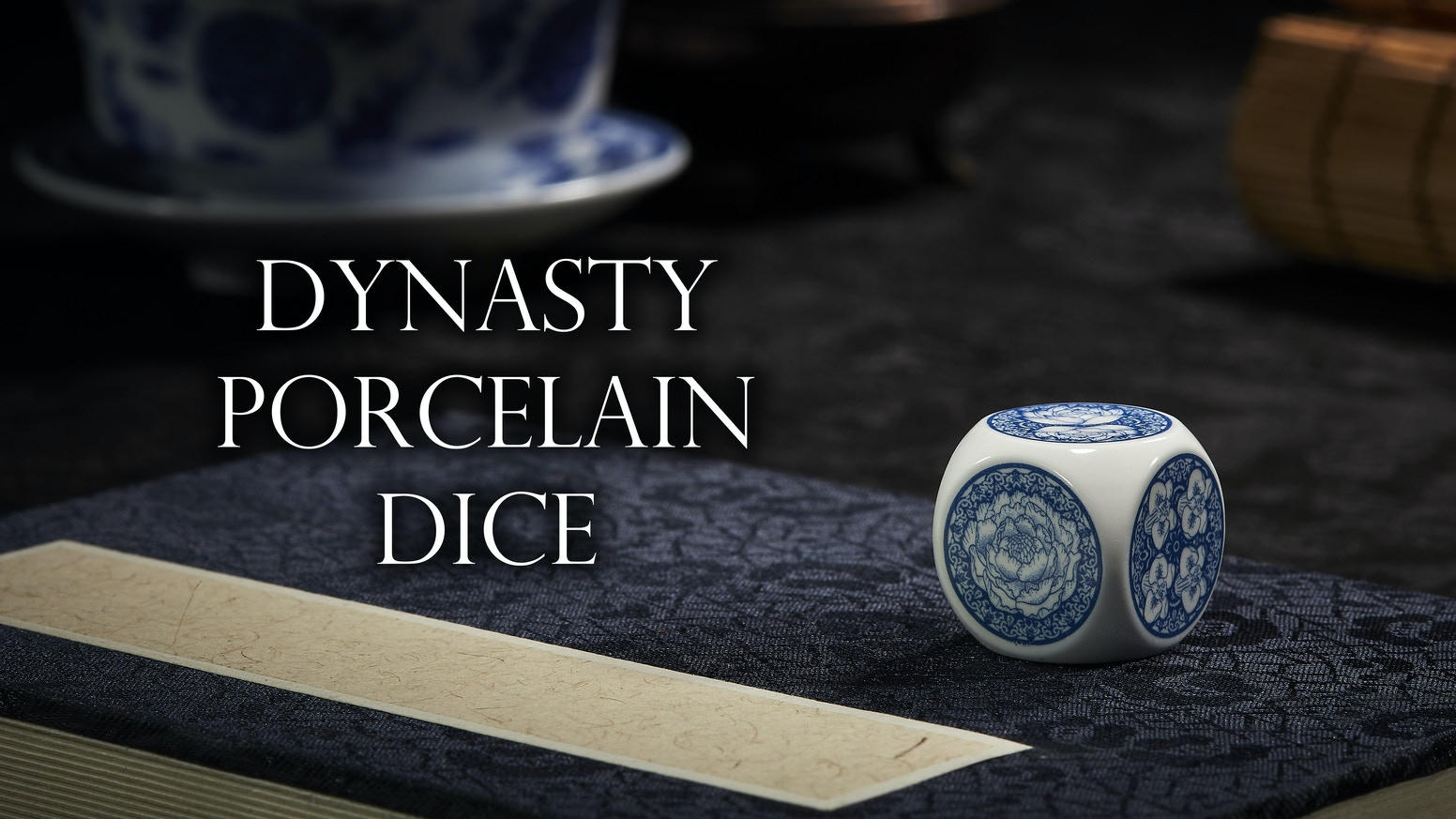 The very first, premier porcelain dice in the world.