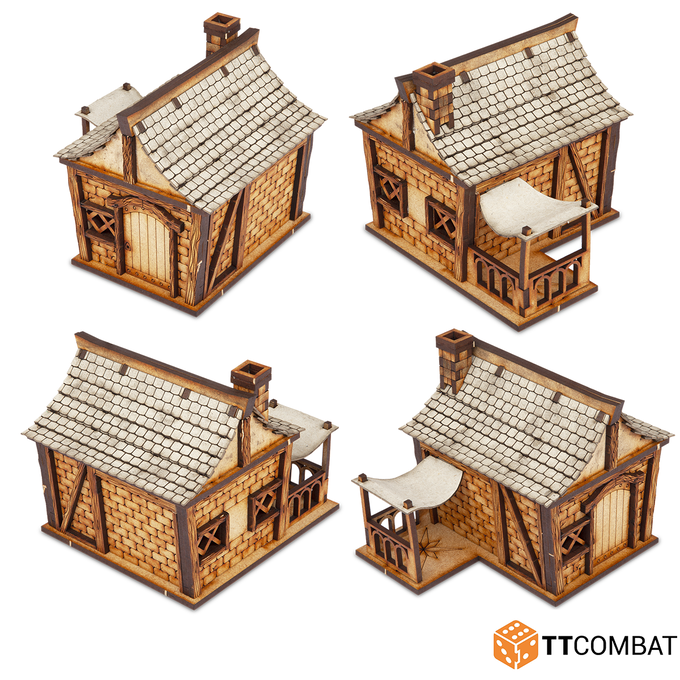 Prototype of Cottage 1 manufactured by TTCombat