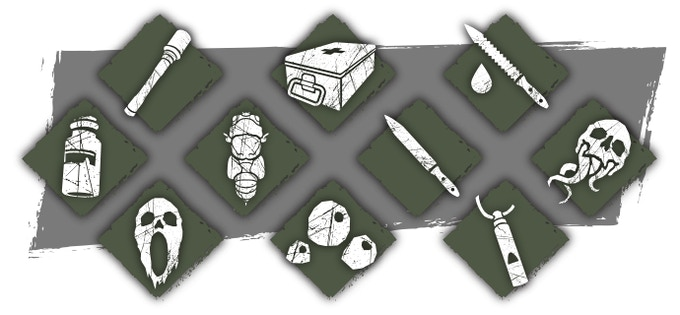 Throwing knives, grenades, lures and curses. Use every tool at your disposal to overcome your enemies.