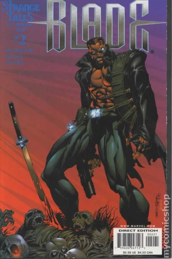 Cover for Marvel Comics Blade