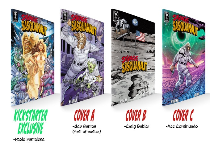 Check out these sweet variants!  Choose which covers you want to take home!