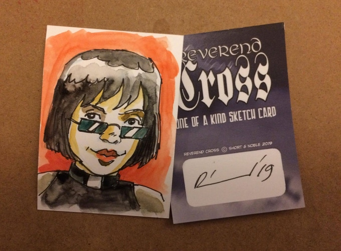 Andrew Richmond sketch cards!