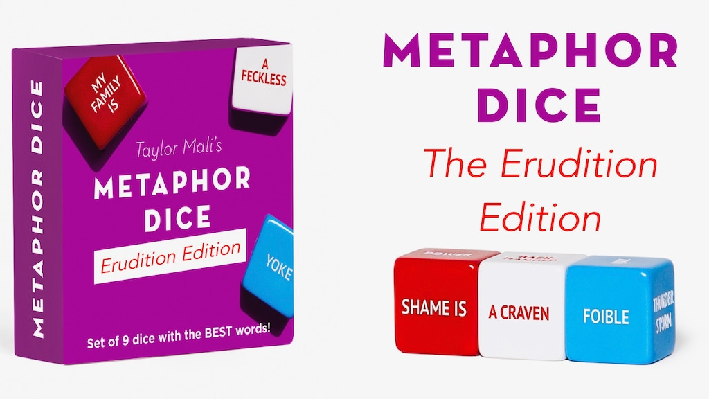 METAPHOR DICE: The Erudition Edition! project video thumbnail