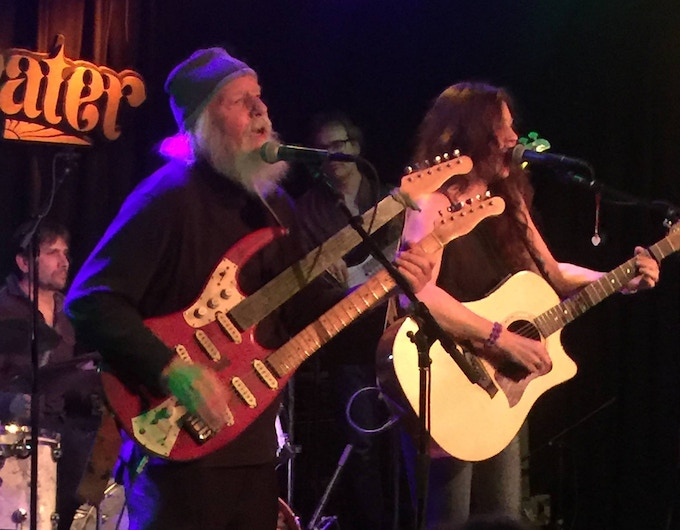 Darby Slick, composer of 'Somebody to Love' , & Lauren Murphy at Bob Weir's Sweewater Music Hall 2017