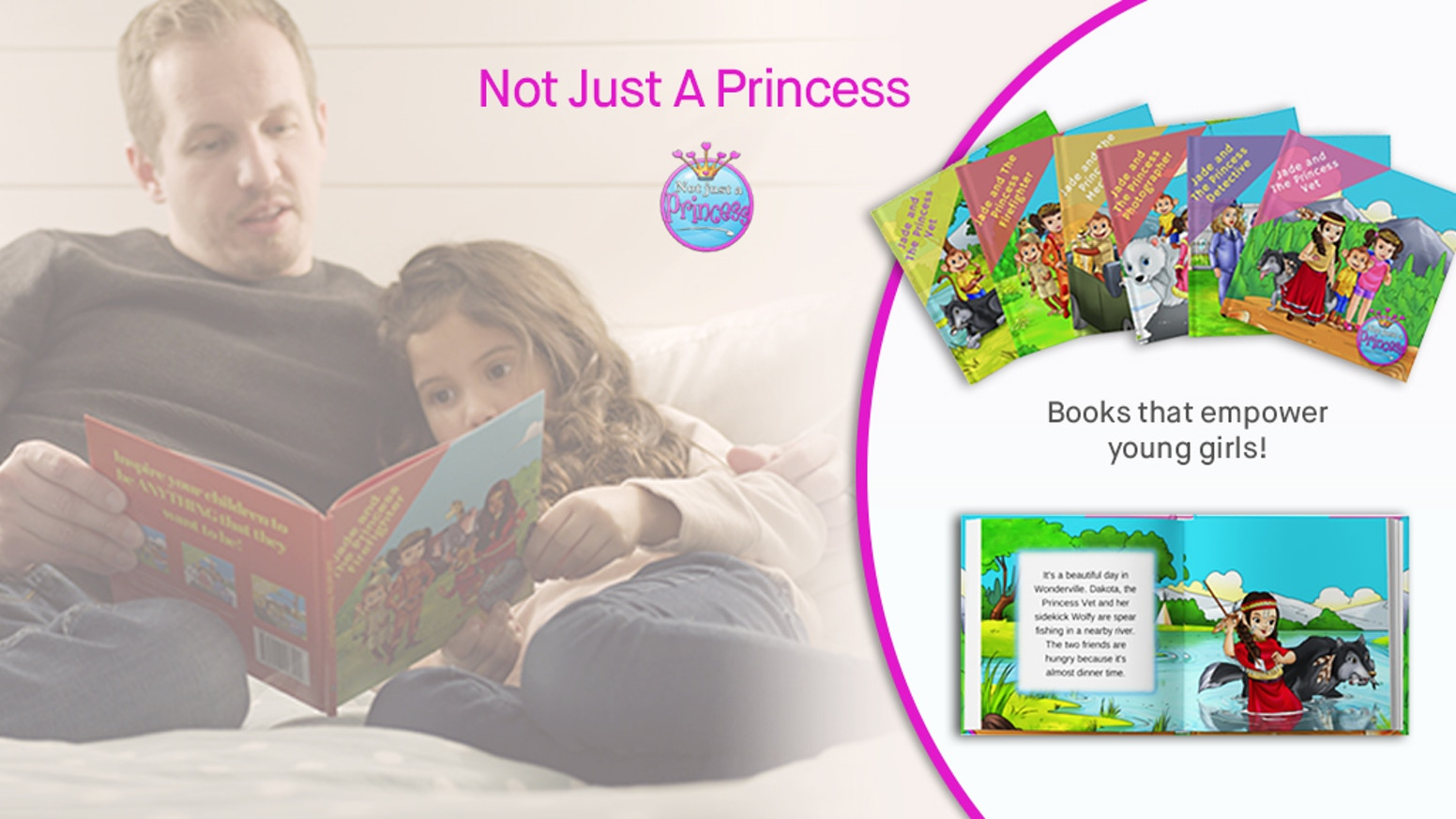 An animated series of career princesses to empower young girls to follow their dreams and be whatever they want to be!