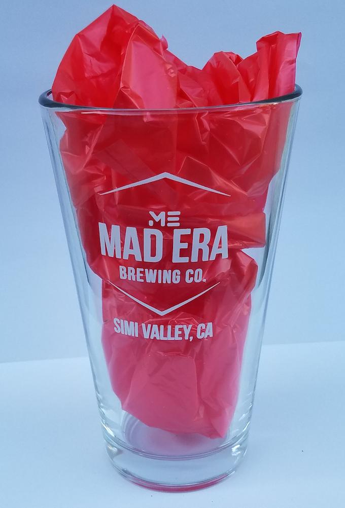 Mad Era Pint Glass