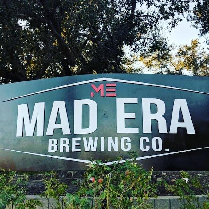 Mad Era Monument Sign