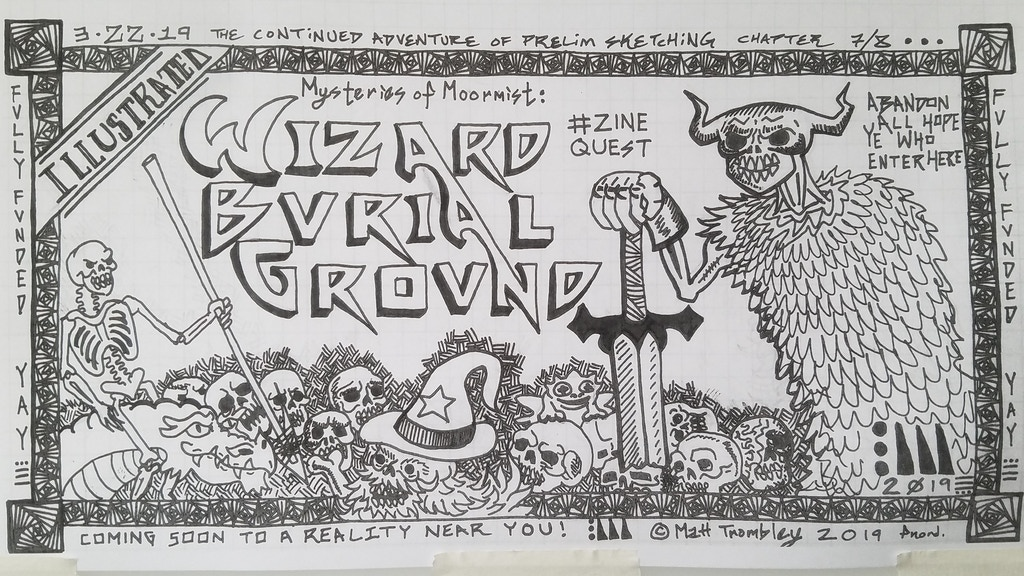 Wizard Burial Ground: A Dungeon-Punk RPG Book (Zine Quest) project video thumbnail