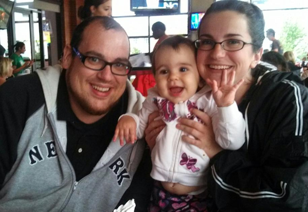 (Here's a pic of me, my wife and my youngest a few years back because I feel I look skinny-ish in it)