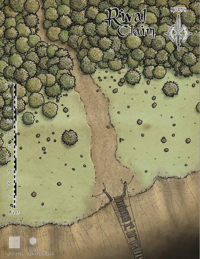 Full-page map of the new Rival Claim image.