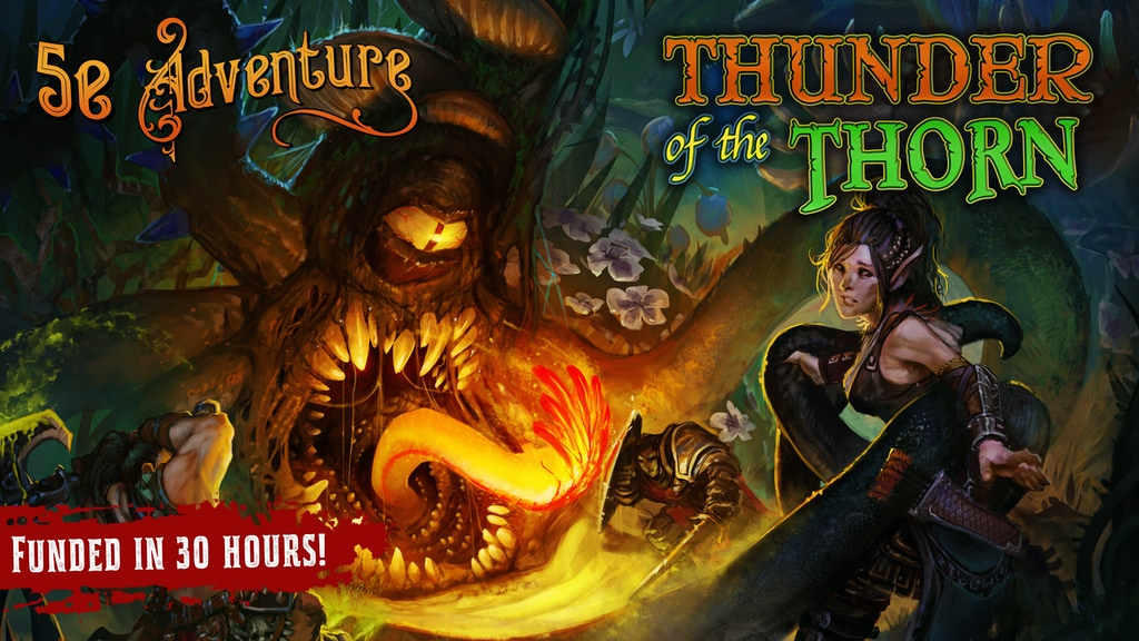 Thunder of the Thorn | D&D 5th Edition Adventure project video thumbnail