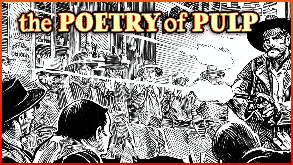 SONGS OF GIANTS: the poetry of pulp, illustrated project video thumbnail