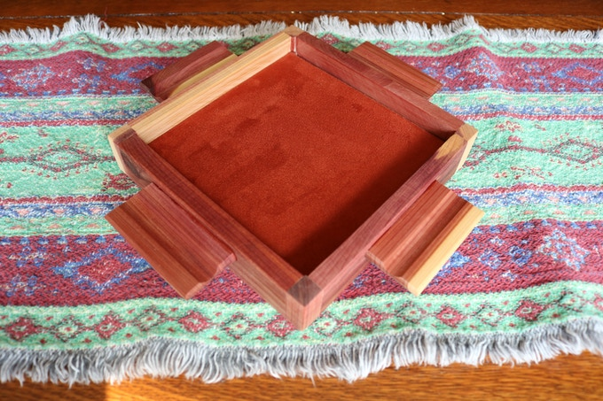 Cedar Morgan Dice Tray