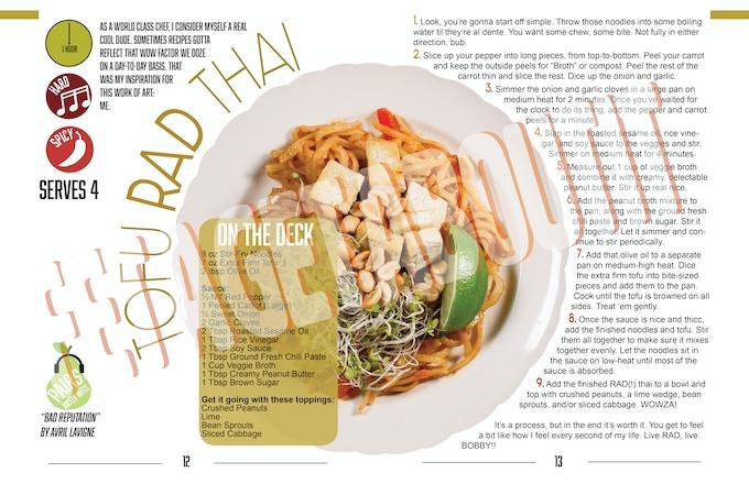 Tofu Rad Thai - WIP