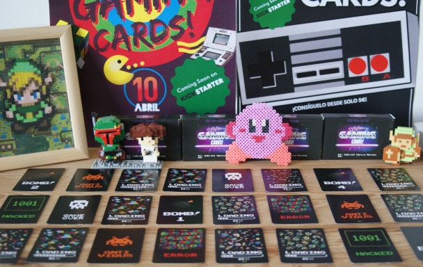 Retro Gaming Cards!