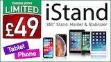 Click here to view iStand - 360° Stand, Holder, Stabilizer for Phone & Tablets