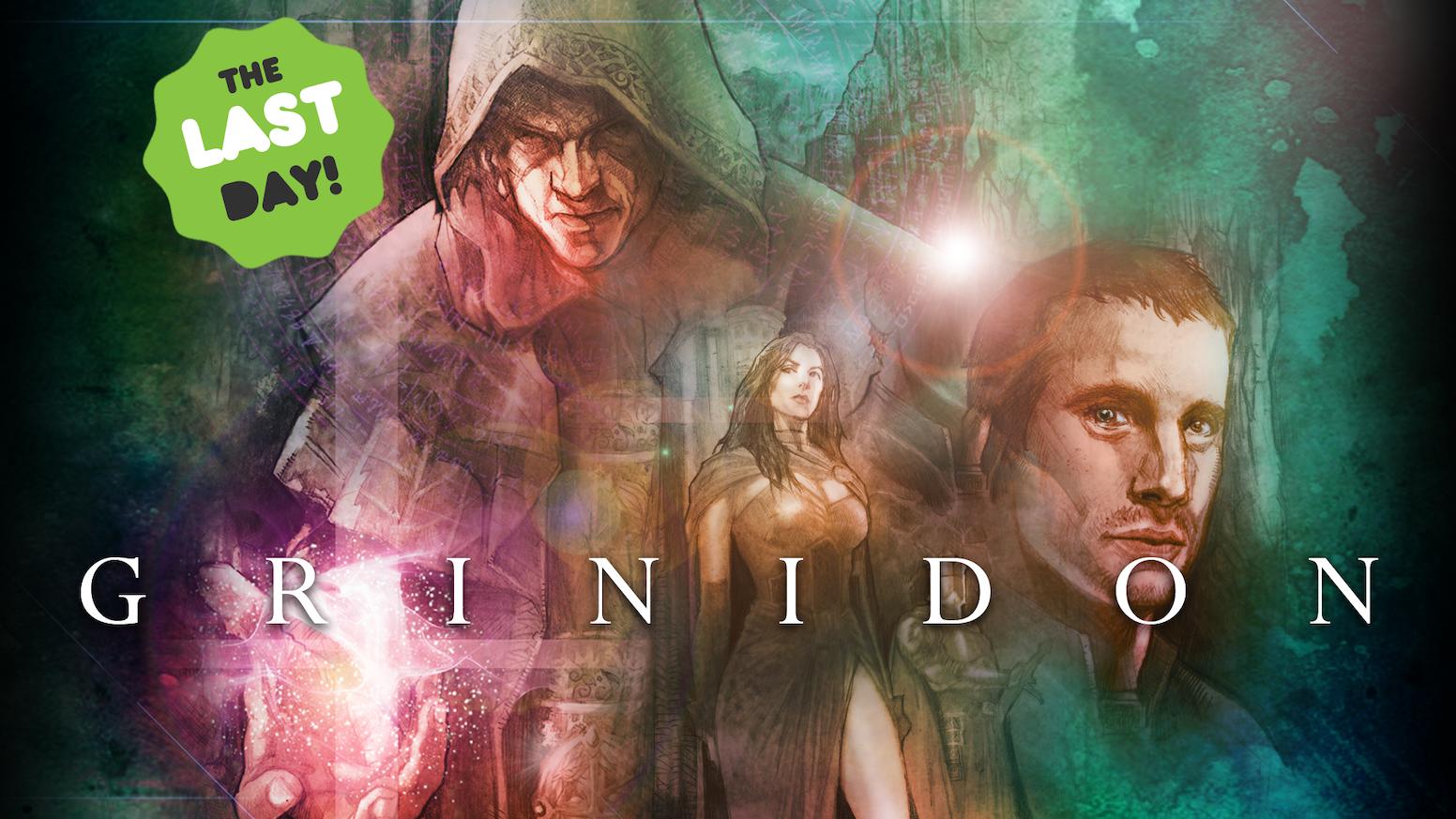 Grinidon: A Fantasy Graphic Novel - Vol 4 by J  Miles Dunn