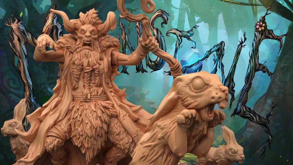 Moonstone Fantasy Skirmish Game - Leshavult Expansion project video thumbnail