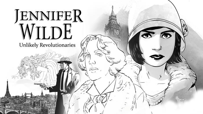 In 1920s Paris, Jennifer uses her artistic skills to solve the mystery of her father's murder, assisted by the ghost of Oscar Wilde.