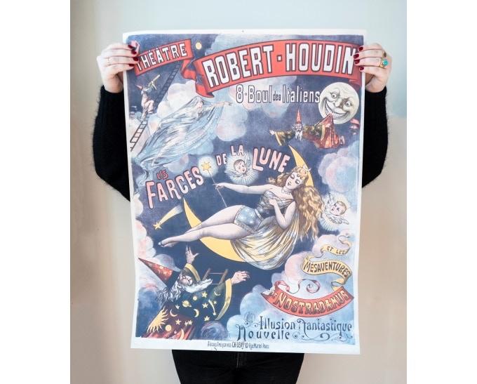 """original poster """"Les farces de la lune"""""""
