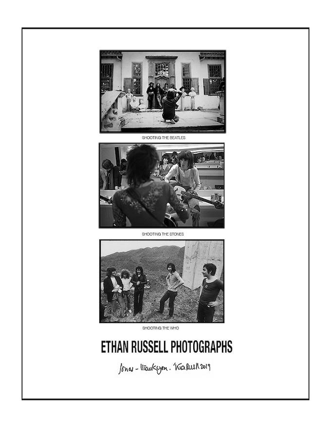 5386427a695 ETHAN RUSSELL PHOTOGRAPHS  A MONOGRAPH by Ethan Russell — Kickstarter