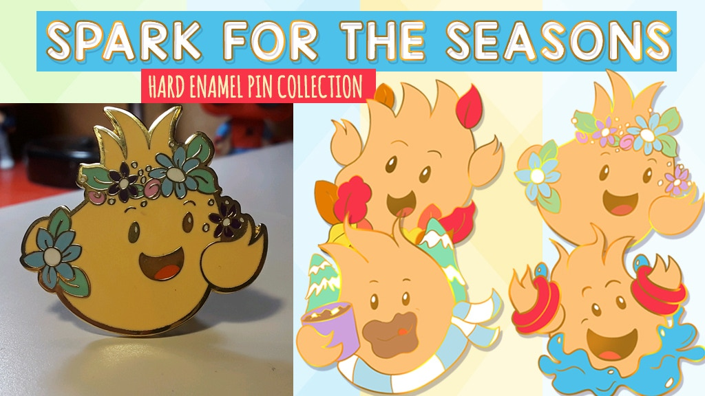 Project image for Spark for the Seasons: Enamel Pin Collection (Canceled)