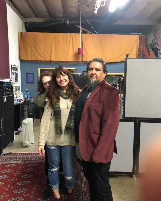"Lauren Murphy, Deb Grabien, & Vadim Canby at The Groove Room. ""The Soundfield's recording sessions"". San Rafael, Ca. 1/2019"