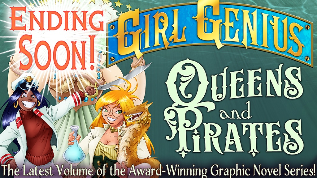 Adventure, Romance, MAD SCIENCE! The latest volume of Phil & Kaja Foglio's Girl Genius webcomic and graphic novel series!
