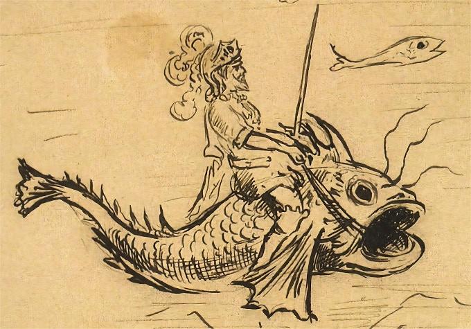 original Georges Méliès drawing