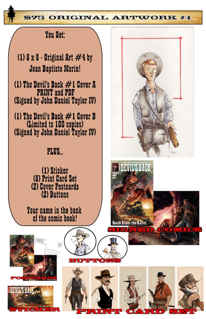 The Devil's Back #1 by Top Secret Press — Kickstarter