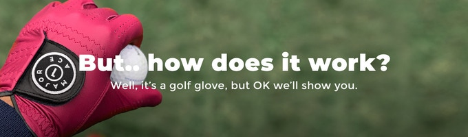 Major Ace - The last golf glove you'll ever want    Indiegogo