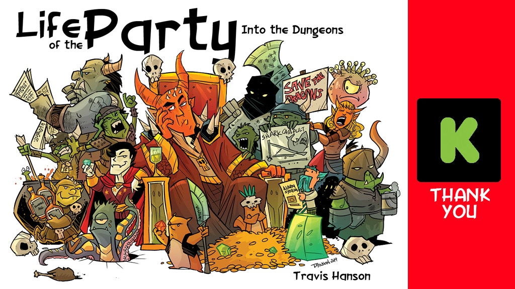 Life of the Party Vol. 3: Into the Dungeon. An RPG Series project video thumbnail