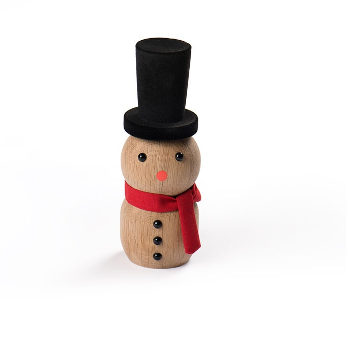 Front image of the Snowman