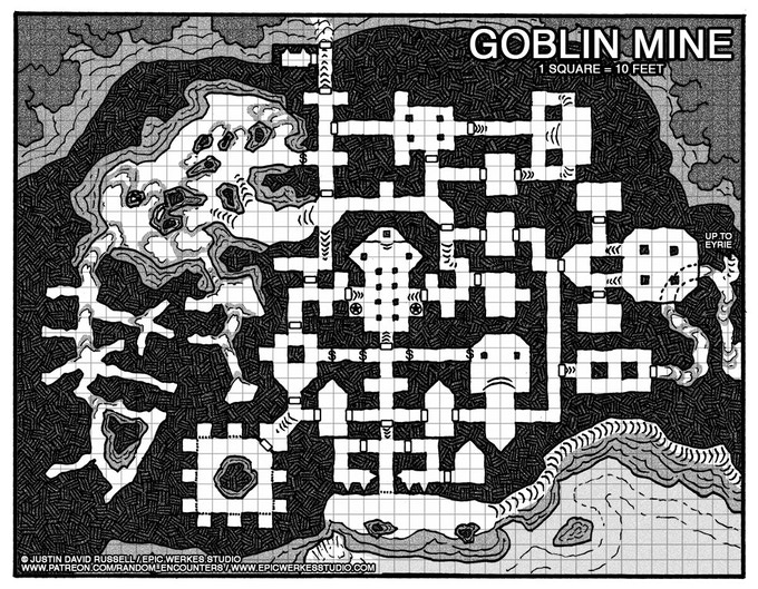 The Goblin Mine, the first part of The Secret of Forsaken Peak.
